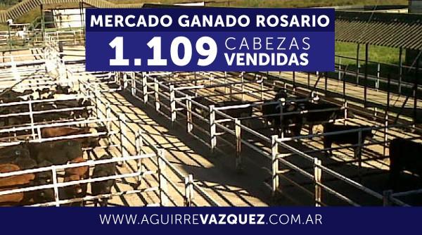 Resultados Mercado Ganado Rosario – 04/09/2018