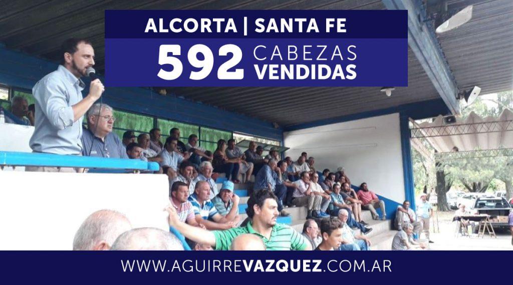 Resultados Alcorta/Santa Fe – 29/11/2018