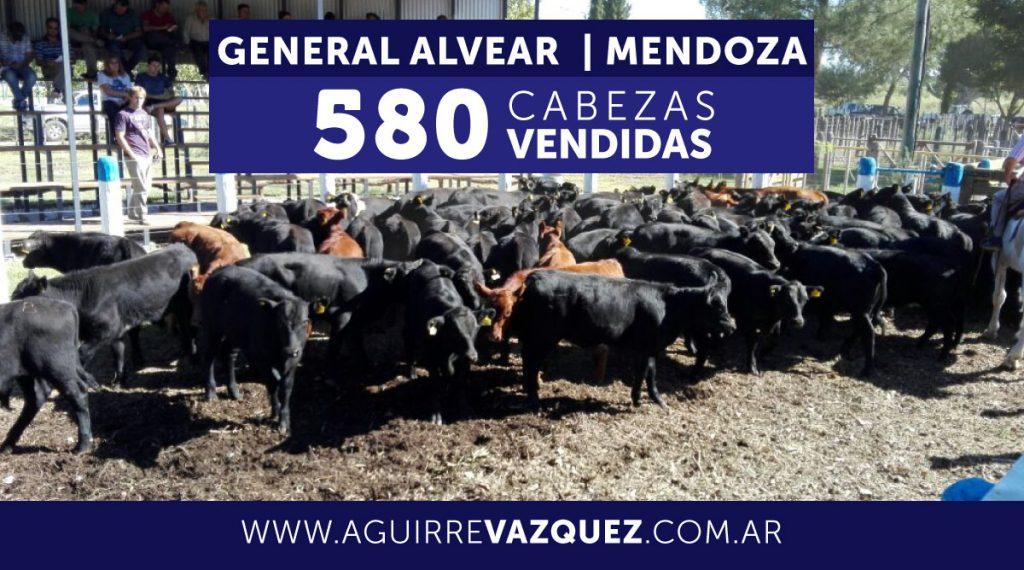 Resultados General Alvear/Mendoza – 21/12/2018