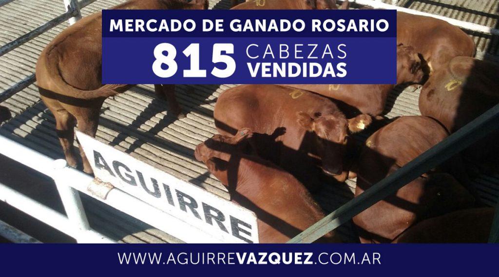 Resultados Mercado Ganado Rosario – 22/01/2019